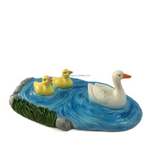 Resin Duck Pond For Miniature Fairy Gardens