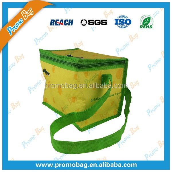 Promotional Nonwoven Cooler Bag Food Fresh Keeping
