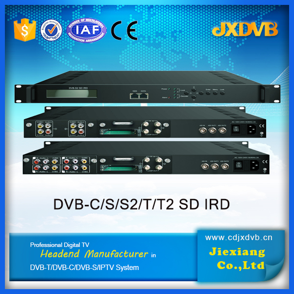 digital cable tv headend ird,SD DVB-S/S2 Satellite Receiver