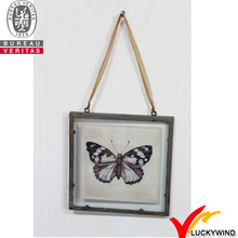 decorate antique hanging style metal picture frame