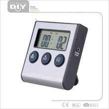 The new kitchen cooking alarm digital display thermometer food baking probe thermometer timer on sale