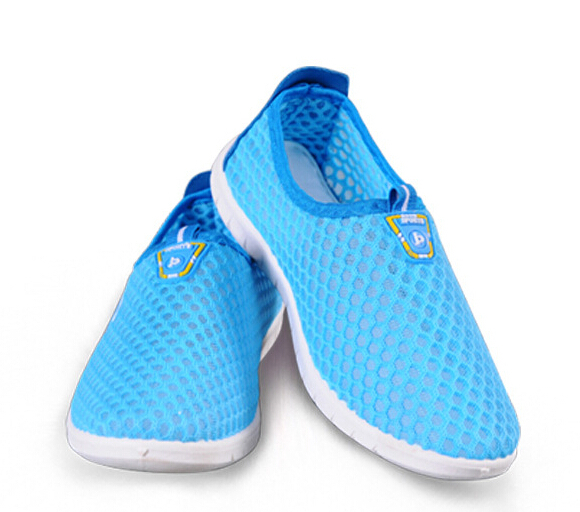 2015 New Hot Sale Casual Outdoor Cut-Outs Soft Comfort Breathable Flats Mesh Fashion Sneakers Spring Pregnant Woman Shoes DS972