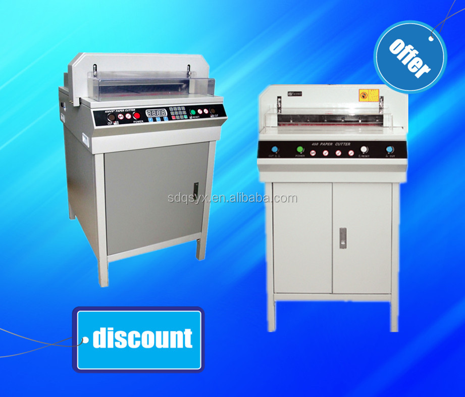 450+ Electric digital office paper cutter, office paper cutting machine