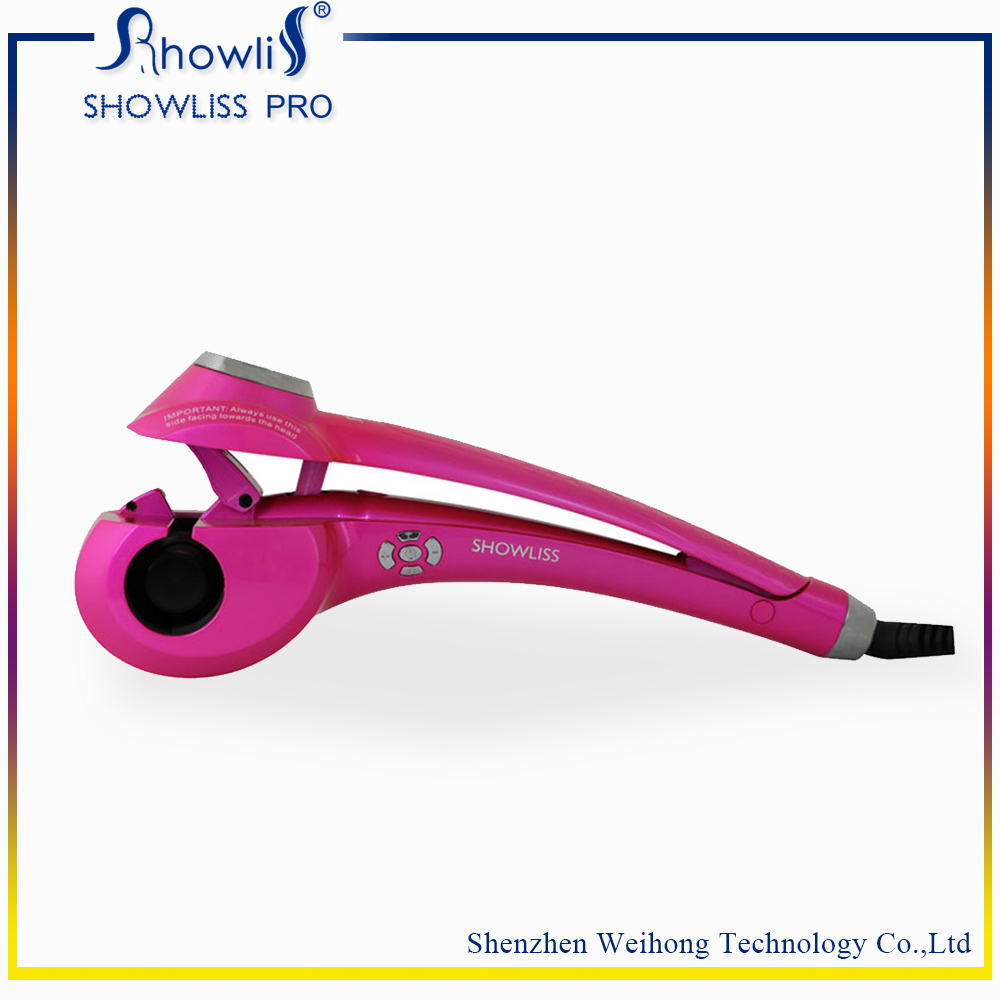 Pro automatic Showliss curlers Automatic Hair curlers perm curlers Curl Hair Rolloer style hair tools