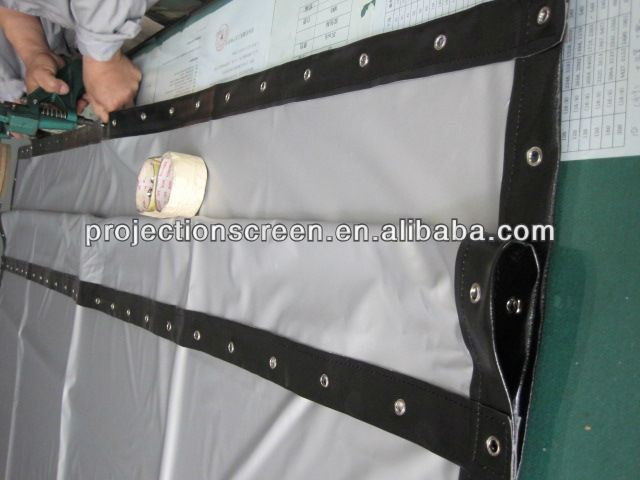 HOT! Transparent rear projection film,projector screen for glasses window, weight Light and easy to install