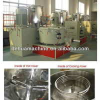 Plastic High Speed Heating Cooling Mixer