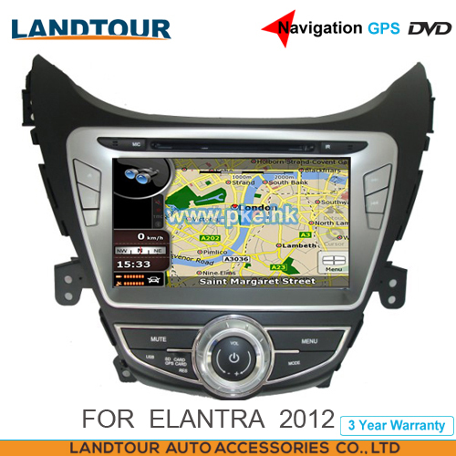 Car multimedia Player Navigation GPS DVD for HYUNDAI ELANTRA 2013 CE FCC ROHS