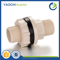 2016 China factory High quality Manufacturing Pipe Fitting ASTM2846 Cpvc Male & Female tank nipple
