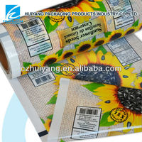 laminated packaging seeds sachets plastic film rolls