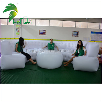Customized PVC Inflatable Sofa Bed for Party