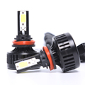 China factory led headlight kit 9004 9007 h4 h13 motorcycle led projector headlights