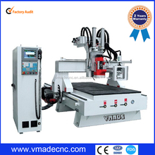 Competitive price hot sale China 1325 woodworking carving machine ATC CNC router for wood aluminum metal cutting