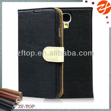 for Samsung Galaxy S4 Luxury Genuine Real Leather Flip cover Wallet Case