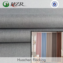 hotel room 100 polyester blackout curtain fire resistant fabric