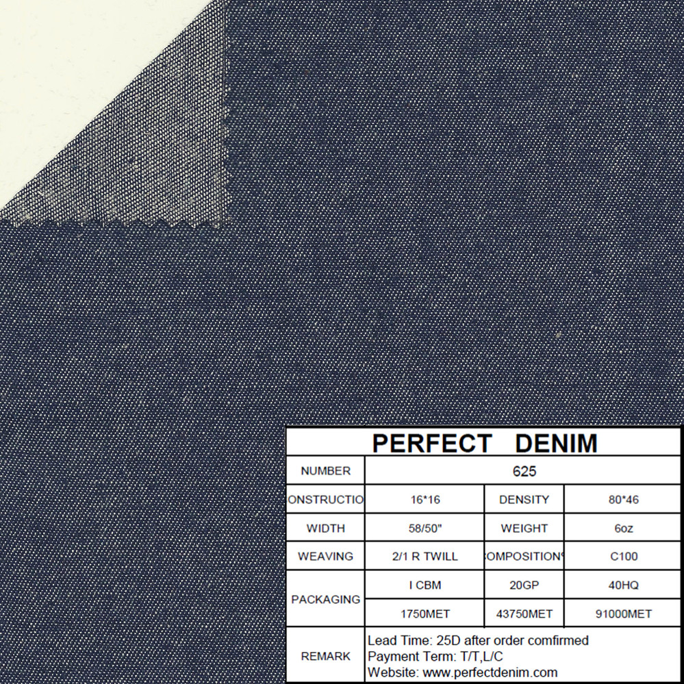 Fastness cotton 100% washed twill denim fabric