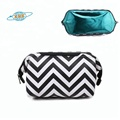 Newest design lady fashion pu cosmetic bags cases makeup pouch