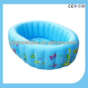 2014 new hot cake shape inflatable Swimming Pool for kid heavy-duty