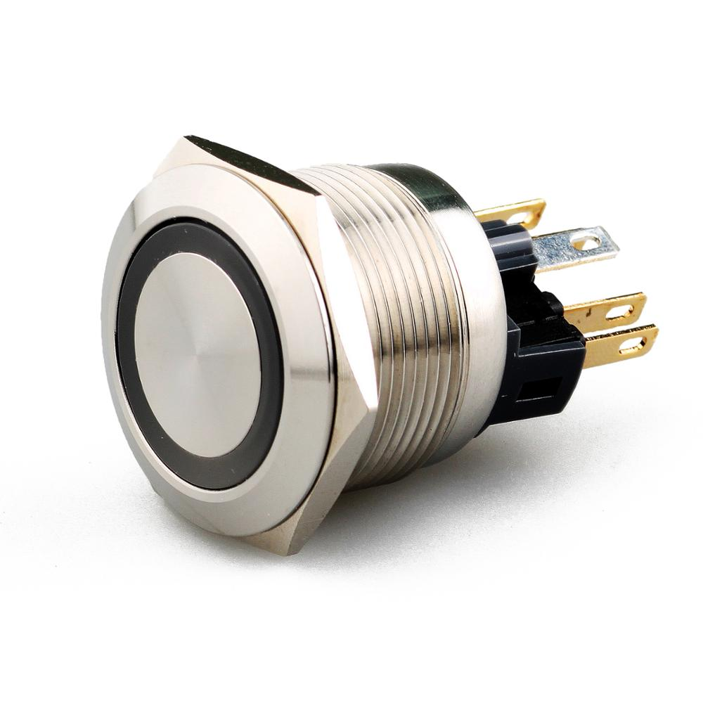 Professional manufacture 22mm momentary led pushbutton switch