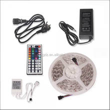 5M SMD <strong>RGB</strong> 5050 Waterproof LED Strip light 300 &amp; 44 Key IR Remote &amp; 12V 5A power