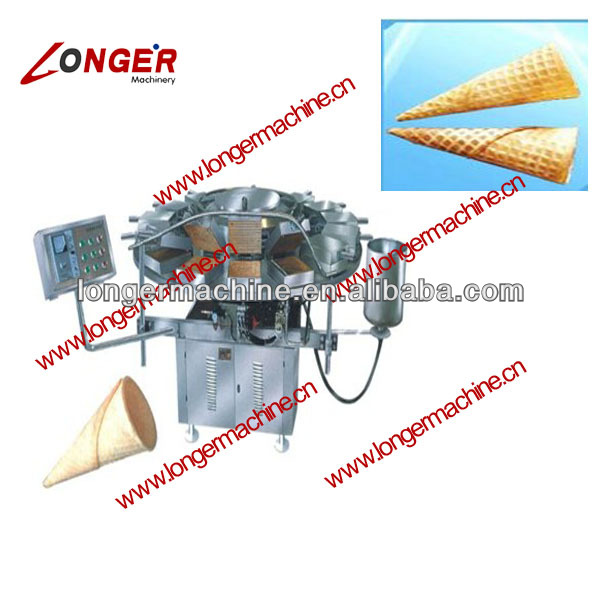 Ice cream cone forming machine|Full automatic Crispy egg cylinder forming and roasting machine|Taper egg cone making machine