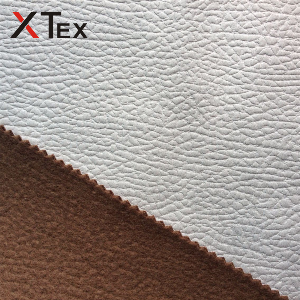 surface sealing compound polyester tricot warp knitted fabric for making wood sofa furniture
