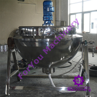 Commercial Kitchen Stainless Steel Tilting Jacketed Steam Kettle