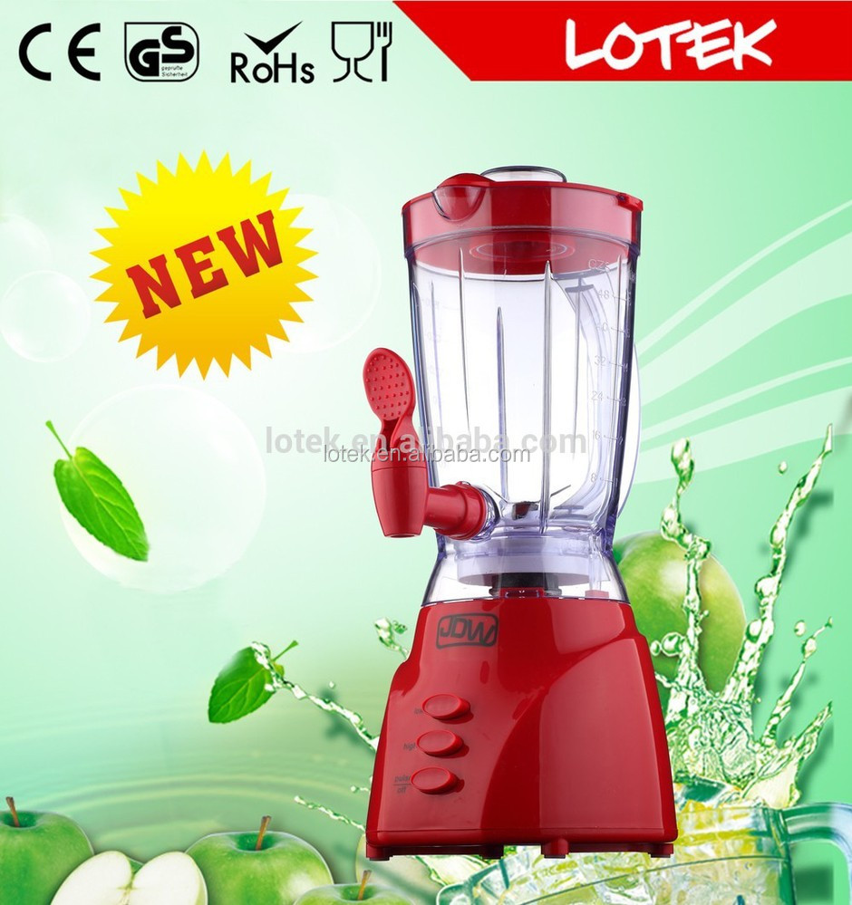 ABS 450w 2 speeds blender plastic jar