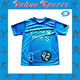 Jersey Sublimated Sportswear Brilliant Colors Short Sleeve Soccer Jersey