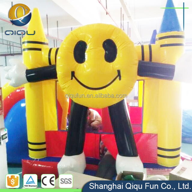 Cheap colorful entertainment funny outdoor inflatable toys cheap party inflatable moonwalk bounce house rentals for sale
