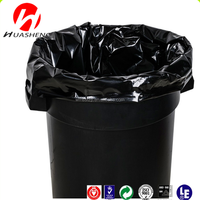Big Waste Garbage Bags Plastic Material Hdpe/ldpe Wholesale