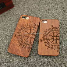 High quality maple wood material produce wooden phone case for iphone 7 7p