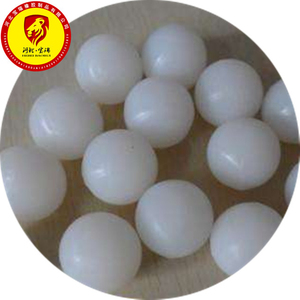 High elastic force silicone rubber ball white bounce ball