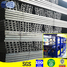 Steel Supplier SS400 U Beam Channel