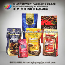 Plastic Coffee package bag