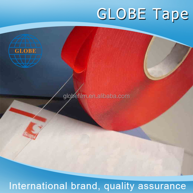 Car accessories used clear acrylic silicone double-sided adhesive tape