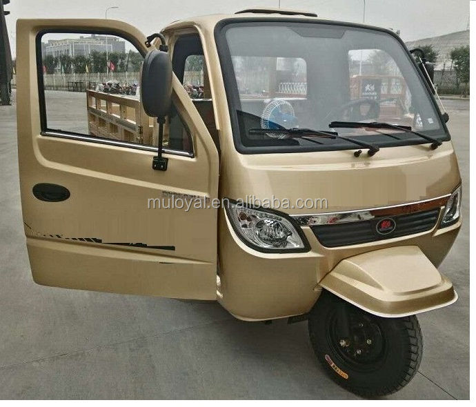 Premium Quality 5 Wheels Tipper Truck Cargo Tricycle 300cc MS300ZH-FCC for Cambodia