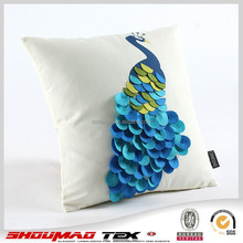 Fashion decorative embroidered pillow