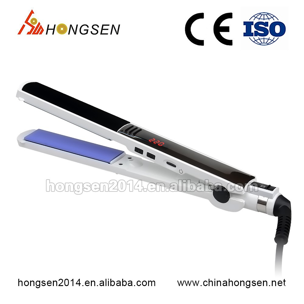 2016 Best PTC heating element and dual voltage available Hair straightener