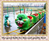 electric mini train amusement kiddie rides roller coaster for sale