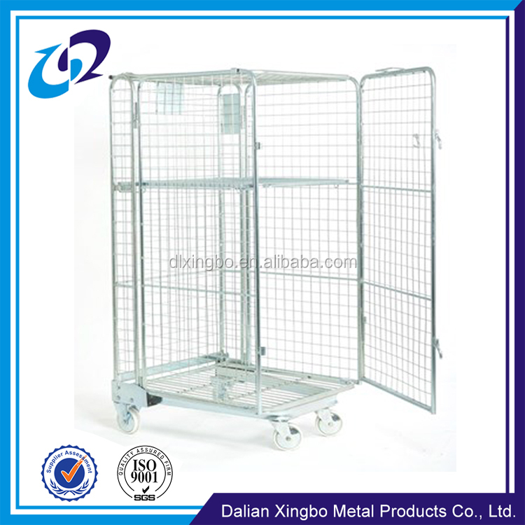 China Manufacturer supplier galvanized transport z frame roll container