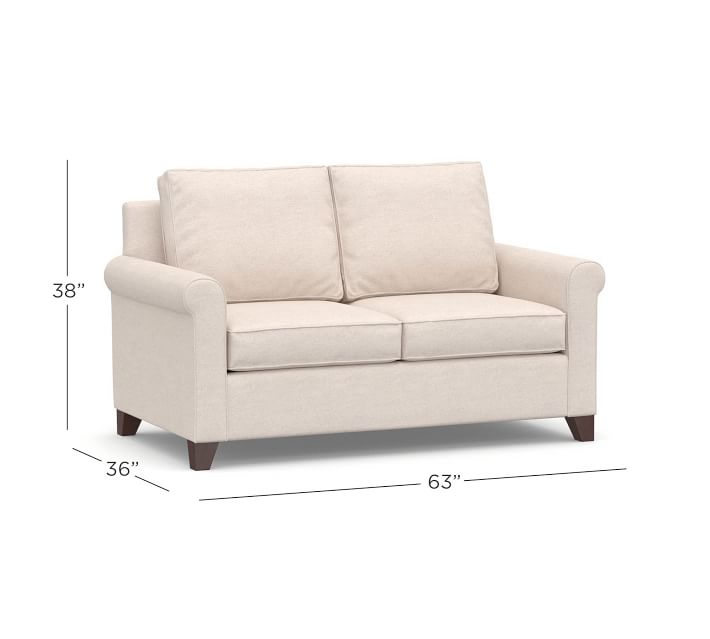 Home furniture American style fabric soft loveseat living room sofa set