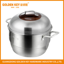 Multiple-use Cookware Stainless Steel Steamer 30cm cooking Pot with lid