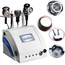 AYJ-823C (CE) 4 in 1 rf cavitation shock wave therapy equipment ultrasound machine price