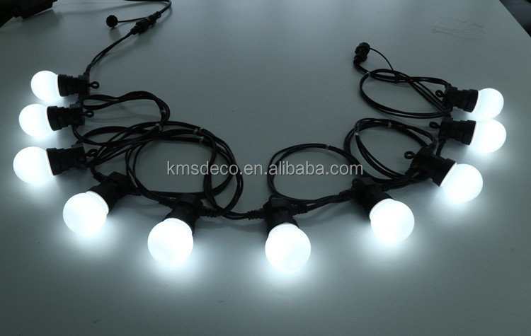 commercial flexible led festoon lights 10bulb 10M for wedding party decoration