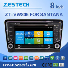 8inch Car Audio Navigation system For VW SANTANA BORA 2013 with DVR DVD function