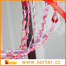 new style plastic beaded curtain as room divider