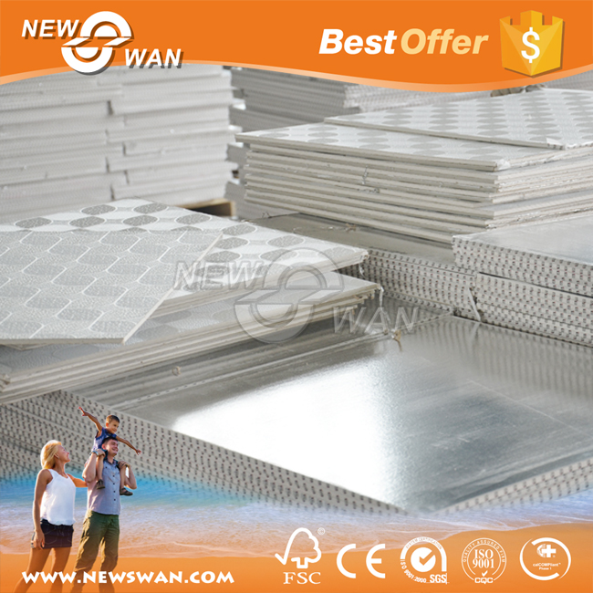 Decoration PVC Laminated Gypsum Ceiling Board