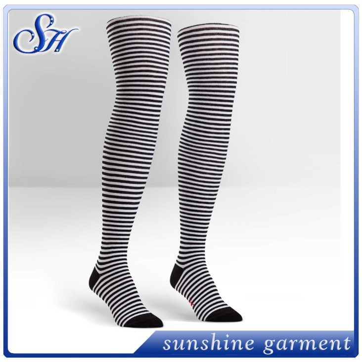 sexy women girls compression cool tube crazy over keen high socks