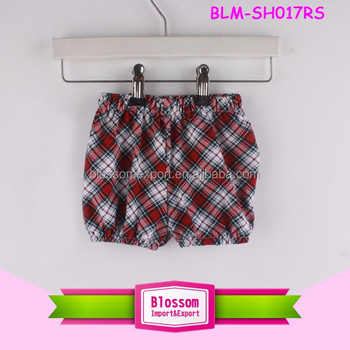 New Style Kids Cotton Seersucker Shorts Plaid Shorts Summer Fahsion Cheap Baby Girls Kids Seersucker Boys Shorts
