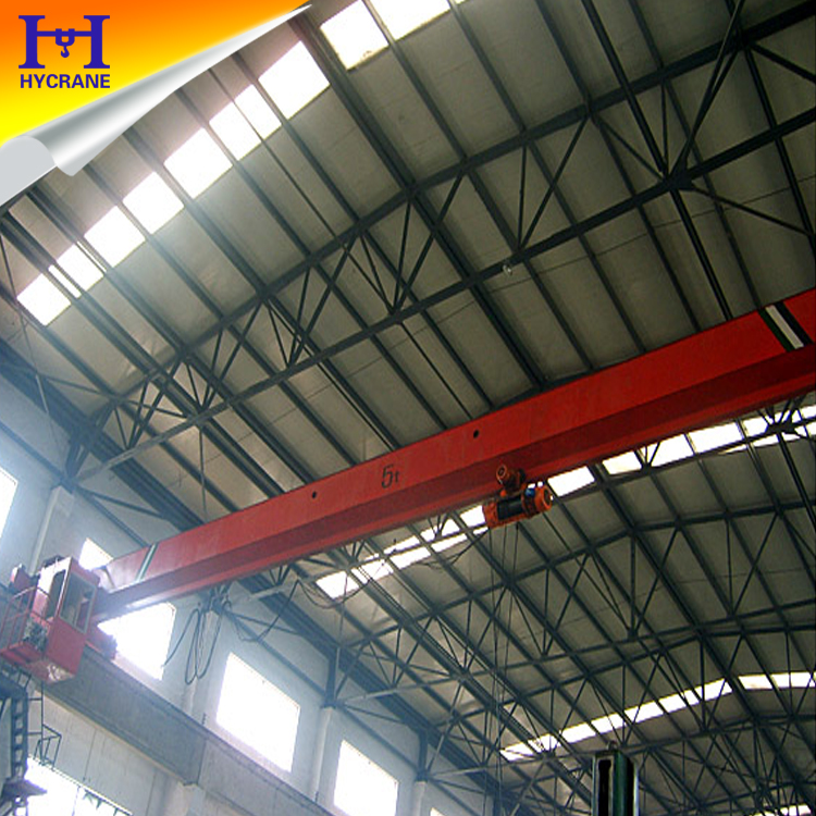 LD model single beam 20 ton mobile overhead crane design